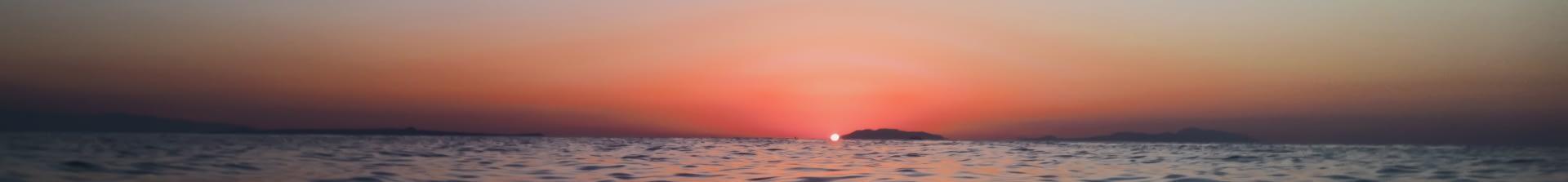 Bandeau Nuit sur la mer
