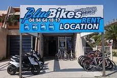 Blue-Bikes à Cavalaire