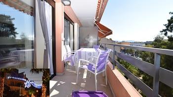 Terrasse de votre location à Cavalaire