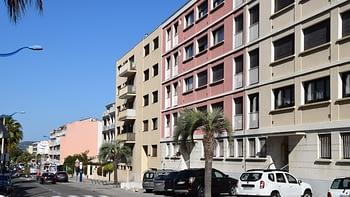 L'Entrée de l'Immeuble de votre location à Cavalaire