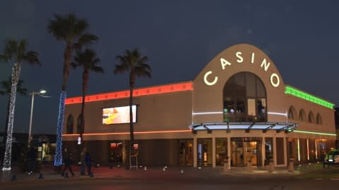 Casino de Cavalaire la nuit