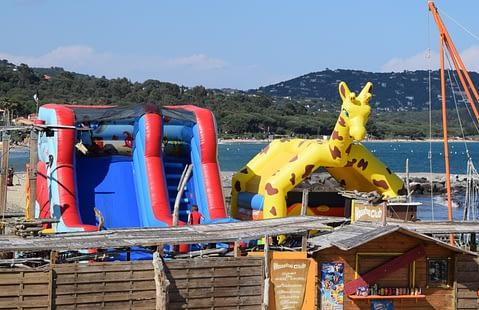Jeux pour les Enfants à Cavalaire