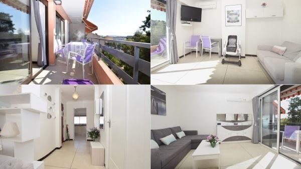 Vue Appartement de votre location à Cavalaire